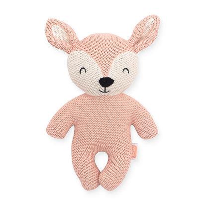Schmusetier Deer pale pink