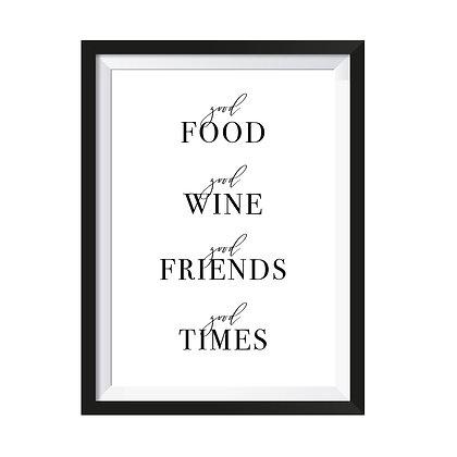 Poster Good Friends Good Times