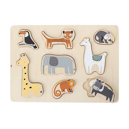 """BLOOMINGVILLE MINI Holzpuzzle """"Tiere"""""""