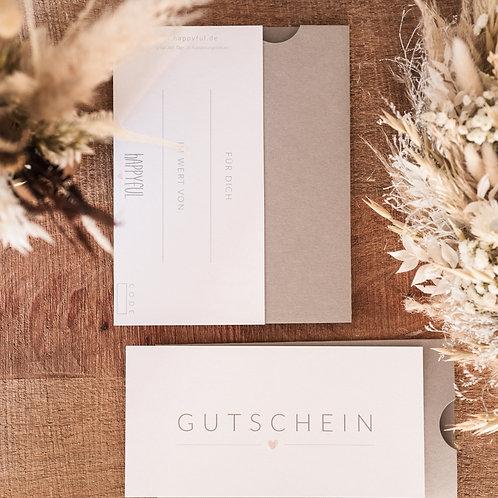 happyful - Gutschein