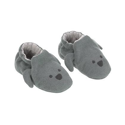LÄSSIG Babyschuhe Little Chumps Dog - onesize