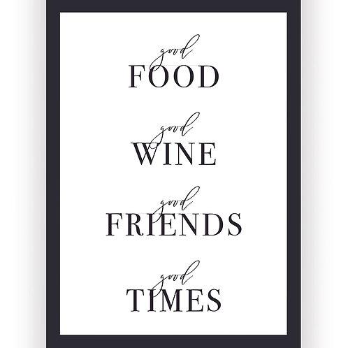 Poster - Good Friends Good Times