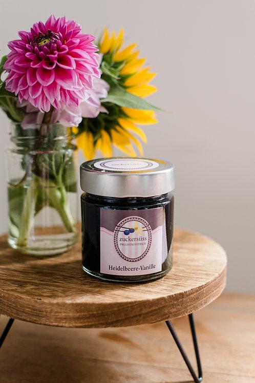 Heidelbeer-Vanille-Fruchtaufstrich