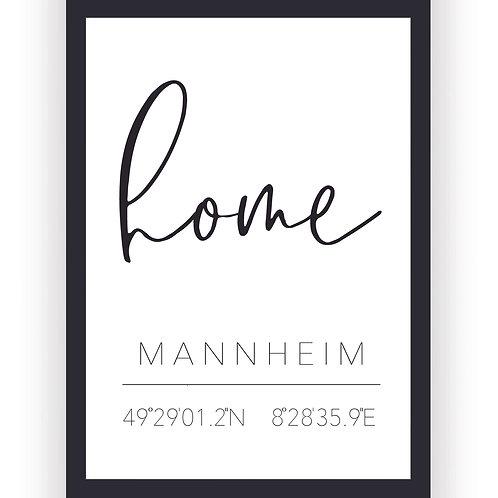 Poster - Mannheim