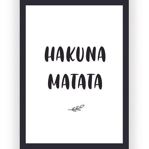 Poster - Hakuna Matata