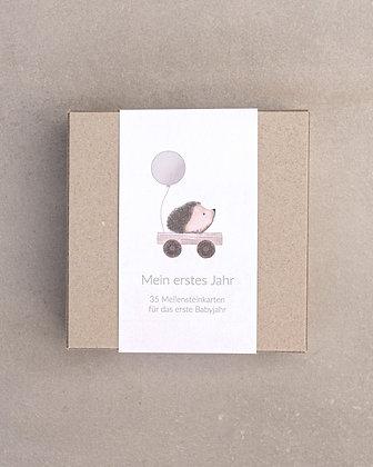 """Meilensteinkarten """"Mein erstes Jahr"""" - happyful Kids"""