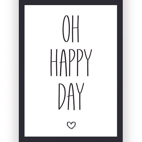 Poster - Oh happy Day