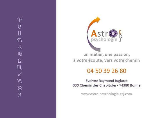 Evelyne Raymond Juglaret astrologie psychologique 74380 Bonne
