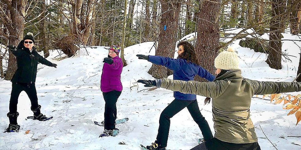 Snowshoe Yoga