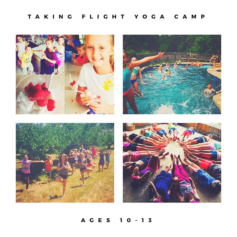 Taking FLIGHT - Yoga Camp for Kids