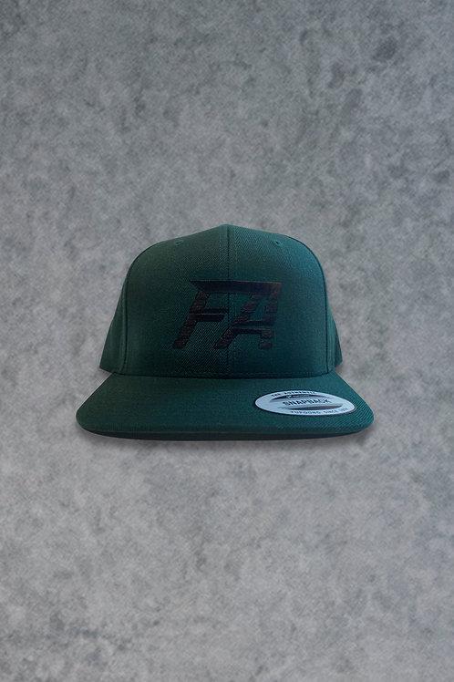 FA (Dark Green Snapback Hat)