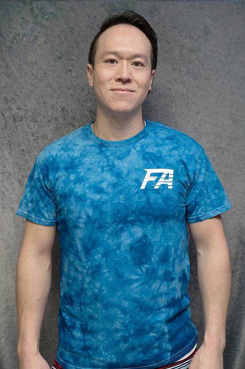FA (Blue Tie Dye Tee)