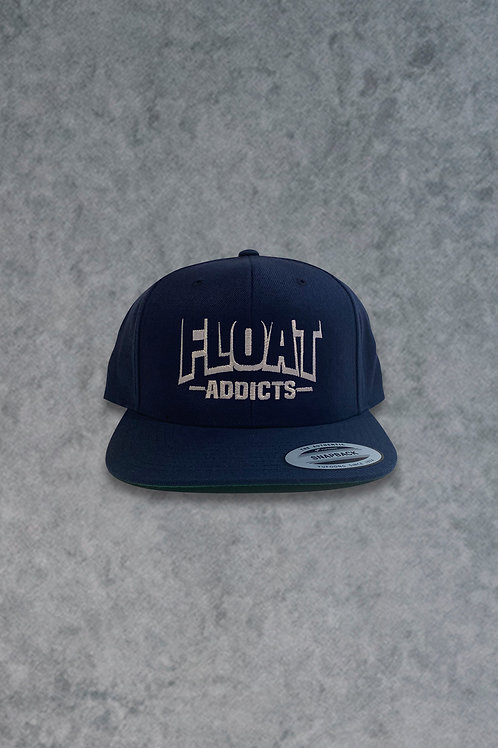 Float Addicts (Navy Snapback Hat)