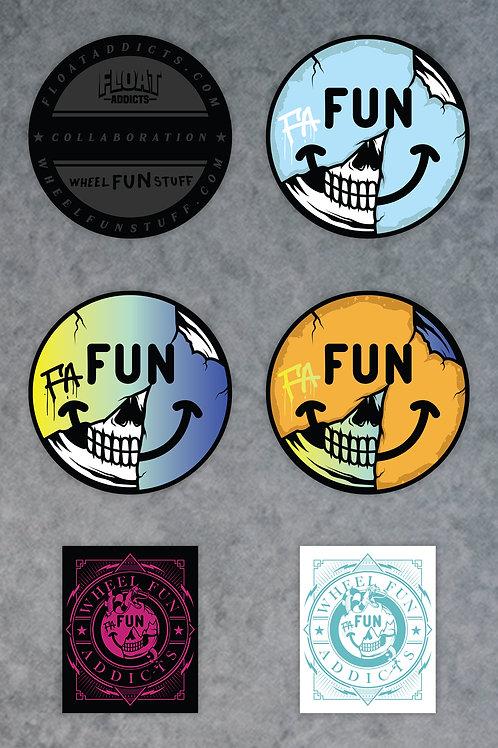 Fun Addicts Sticker Pack