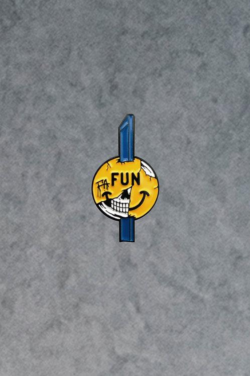 Fun Addicts Enamel Pin