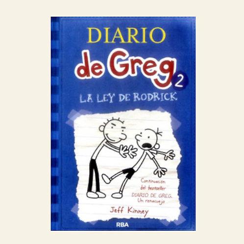 Diario de Greg 2. La ley de Rodrick   Jeff Kinney