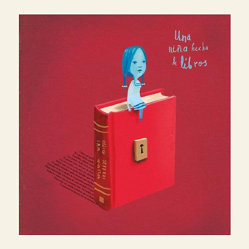Una niña hecha de libros | Oliver Jeffers