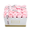 Thumbnail: soft pink eternity roses - small rectangle box