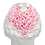 Thumbnail: white and soft pink eternity flowers - large white round box
