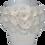Thumbnail: white eternity roses - small white round box