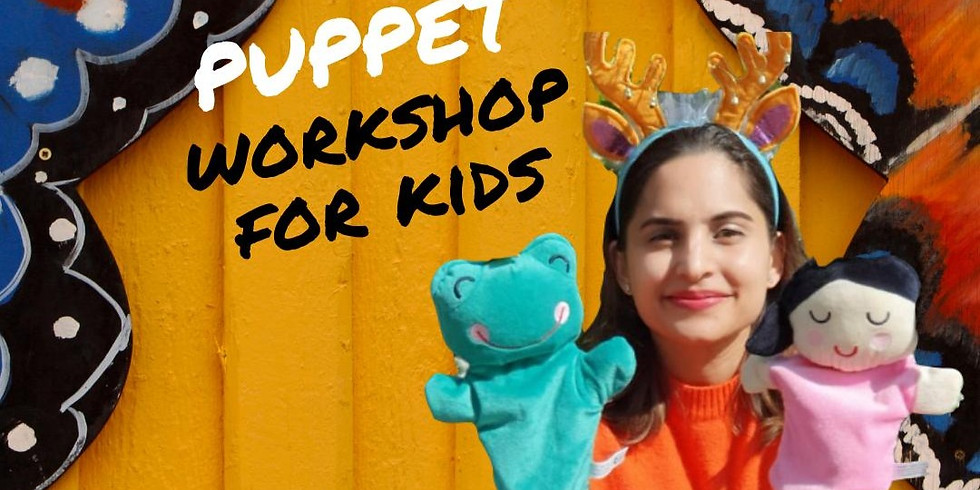 Virtual Puppet Making Workshop (Ages 5-9)