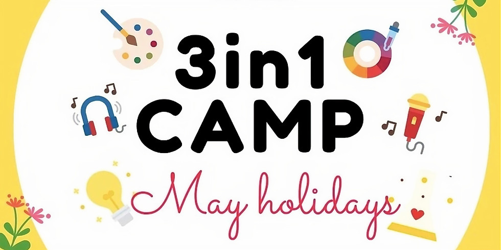 3 in 1 Camp (Ages 4-7)