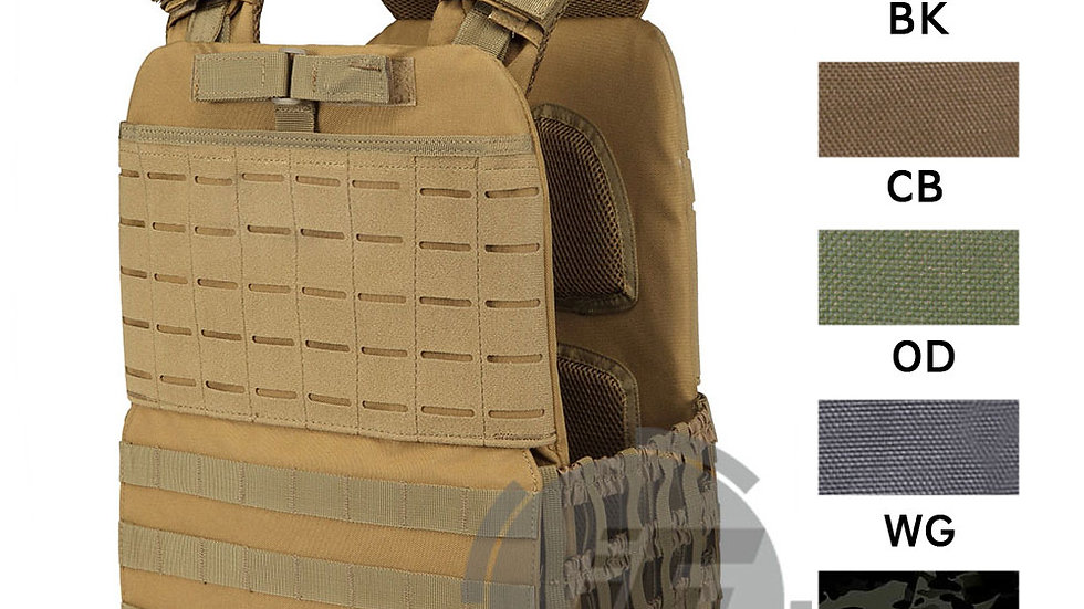 Tactical CrossFit Plate Carrier Weighted Vest
