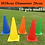 Thumbnail: Free Shipping Football Training Items Plates Obstacles Rings