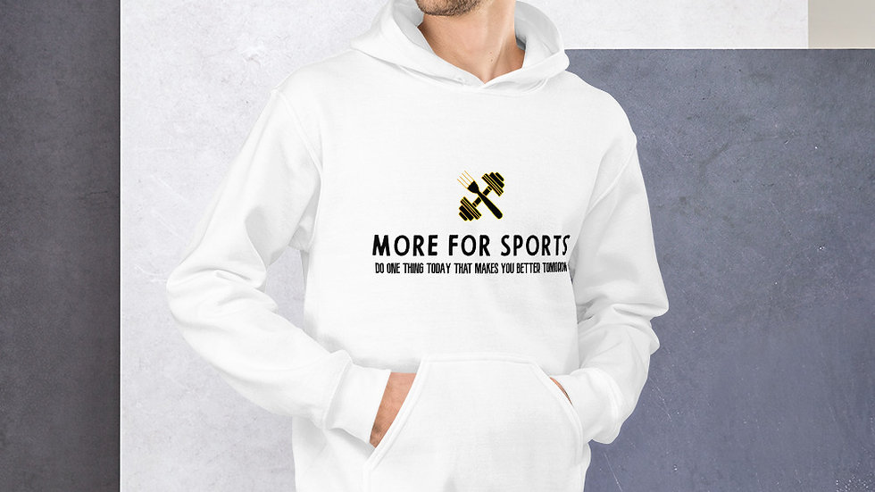 More for sports Hoodie