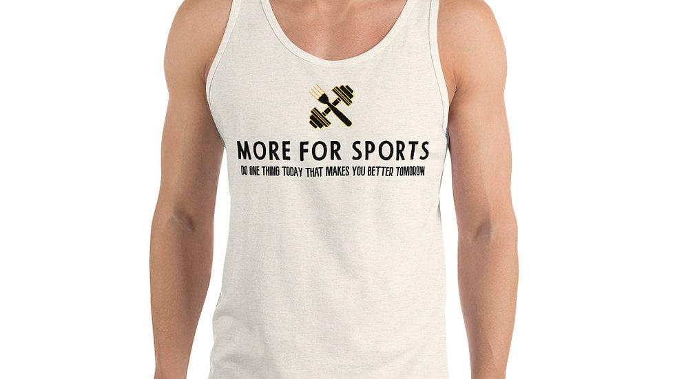More for sports Tank Top
