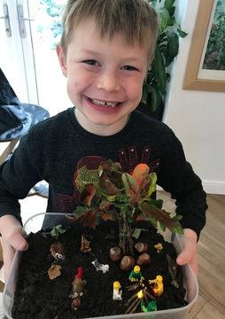Jacob's Autumn Garden