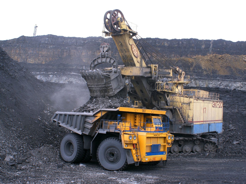 Fossil fuel mining