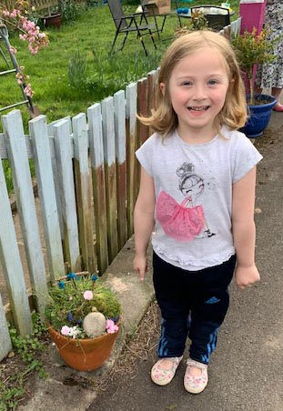 Eviana's Easter Garden.jpg