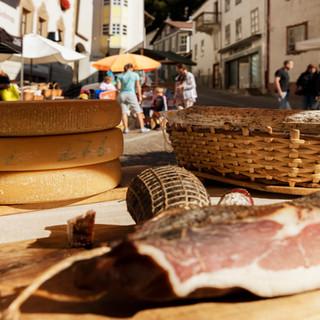 Wochenmarkt in Mals