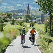 Radfahren im Vinschgau