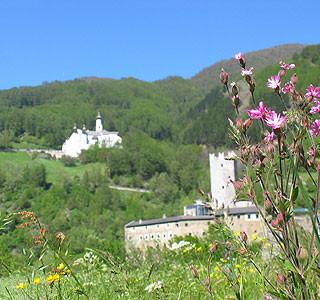 Fürstenburg vs. Kloster Marienberg