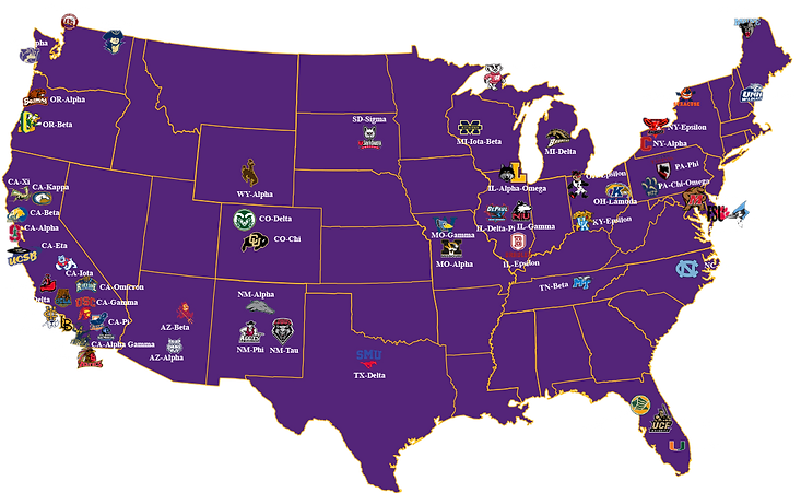 San Diego Area SAE Alumni Chapter Map.pn
