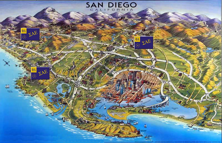 History of SAE in San Diego