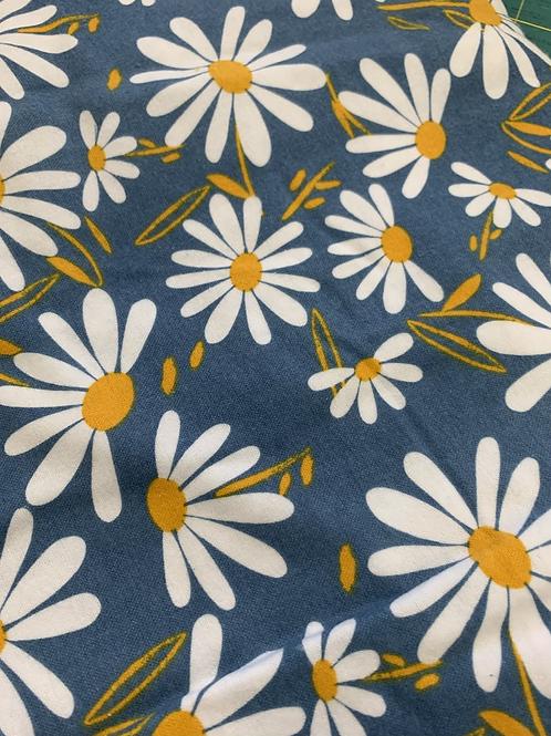 Reusable UnPaper Towels - Daisies on Gray