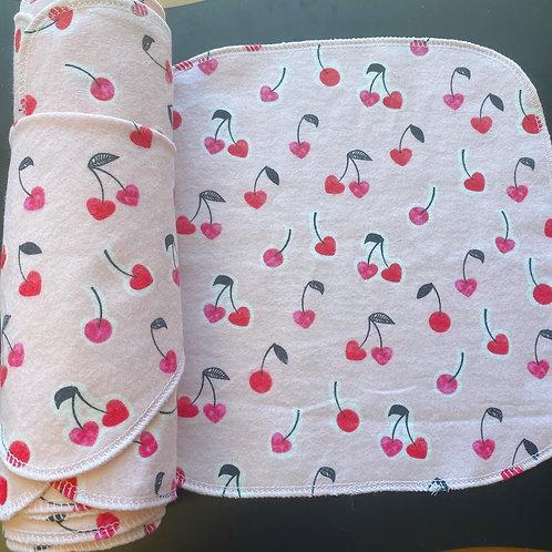 Reusable Unpaper Towels - Cherries