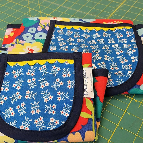 Apron - Kid- Floral Collection