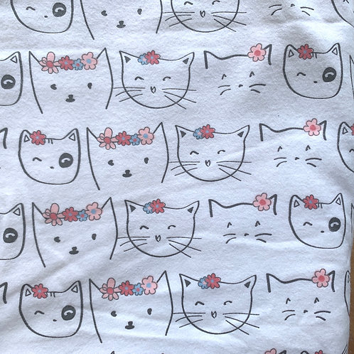 Reusable Unpaper Towels - Spring Kitty