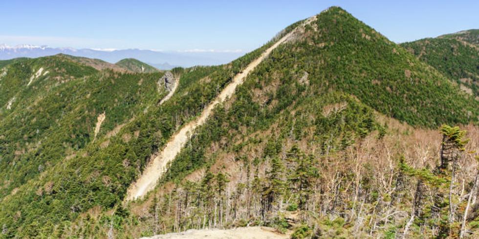 山頂から43座(百名山)が見える! 甲武信ヶ岳(百名山) 登山【催行中止】