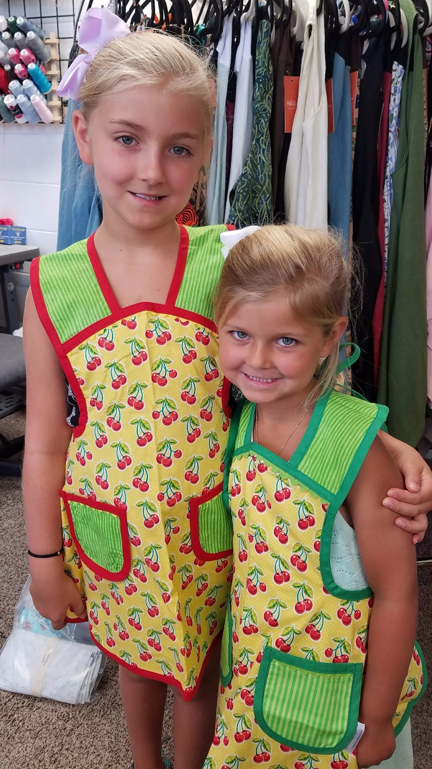 handcrafted aprons