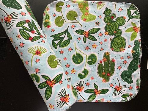 Reusable Unpaper Towels - Cacti