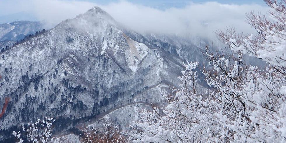 厳冬期2000m級にチャレンジ(催行決定・定員満了)