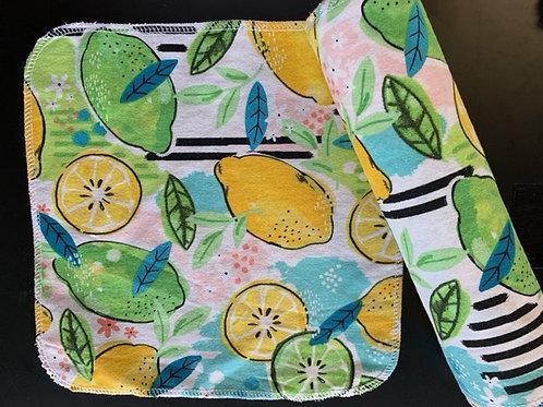 Reusable UnPaper Towels -Lemons