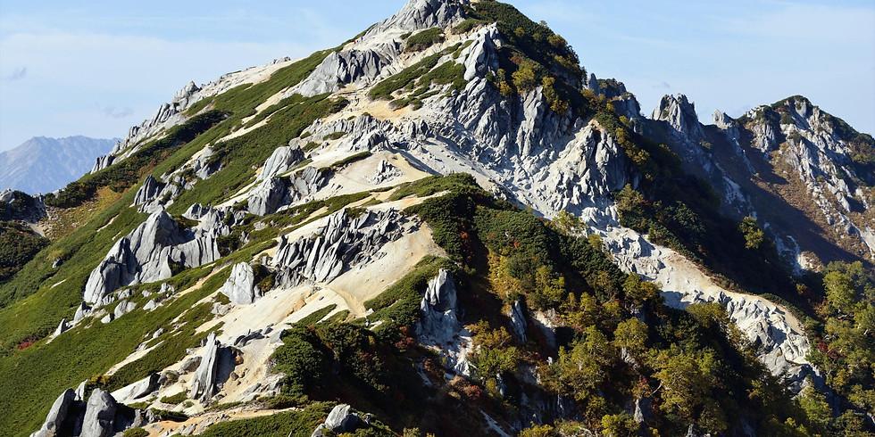 初冬の燕岳登山(参加者募集中)