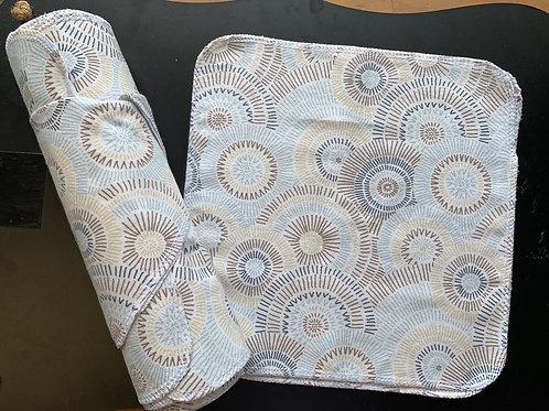 Reusable UnPaper Towels - Gray Circles