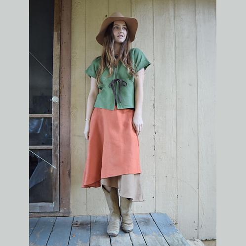 Boho Skirt - Rust